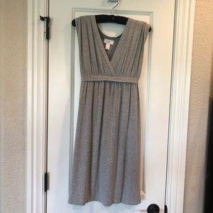 $ Ann Taylor Loft Jersey Swing Dress VNeck